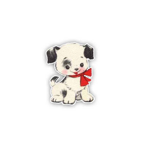 Vintage Die-Cut | Coconut Puppy | mini