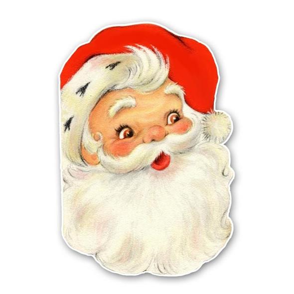 Vintage Die-Cut | Santa #15