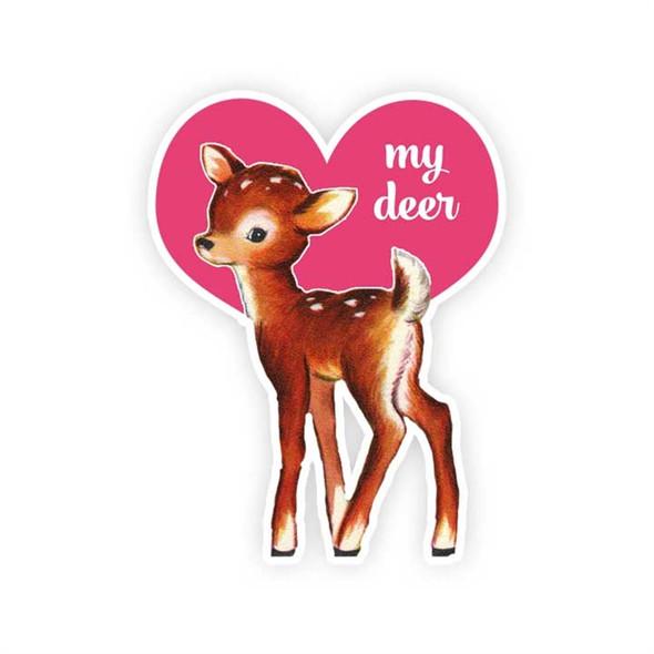 Vintage Die-Cut | My Deer - Pink