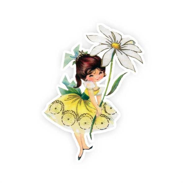 Vintage Die-Cut | Daisy #2