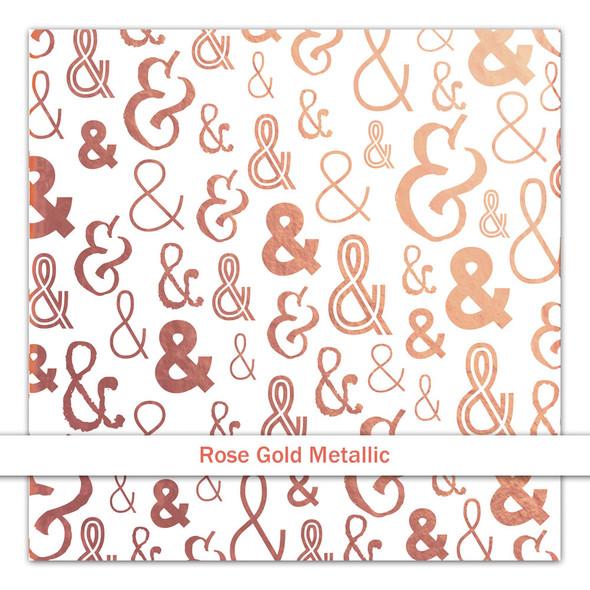 Metallic Vellum | & | Rose Gold