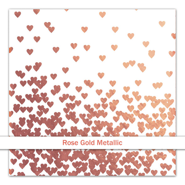 Metallic Clear | Cloud 11 | Rose Gold