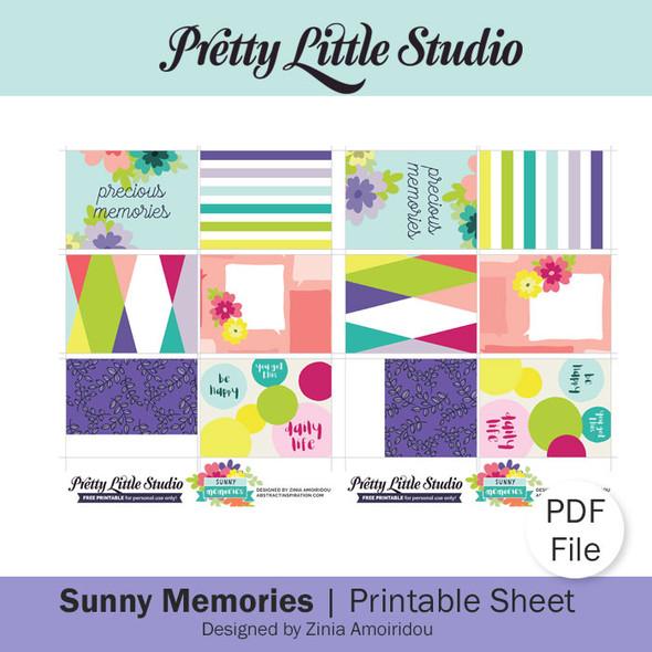 Freebie | Sunny Memories PDF