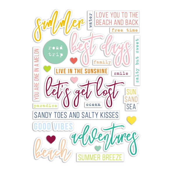 Die-Cuts | Best Days | Color