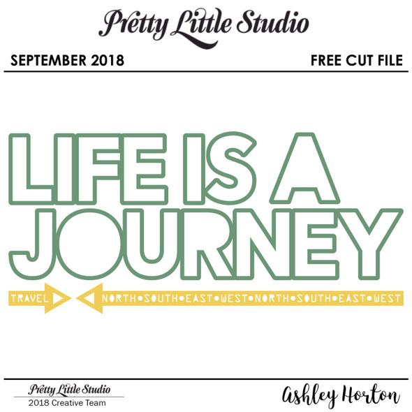 FREE Cut File | Journey