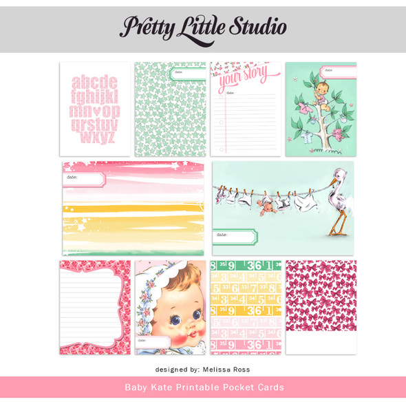 Printable | Baby Kate Cards