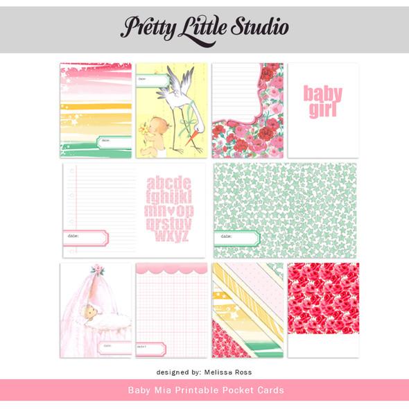 Printable | Baby Mia Cards