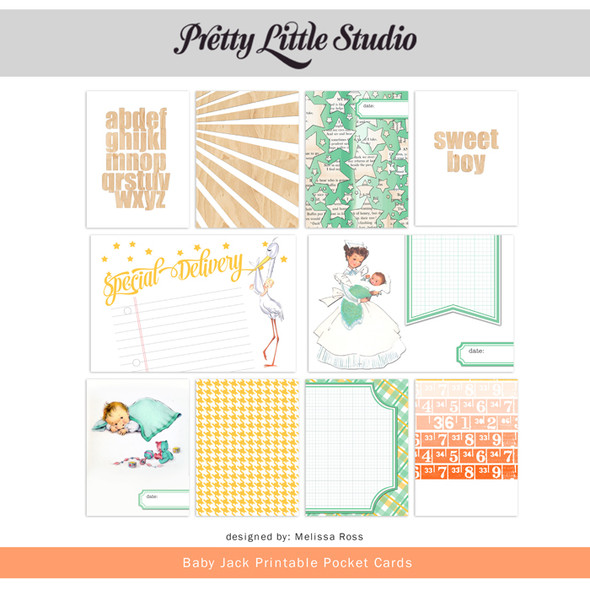 Printable | Baby Jack Cards