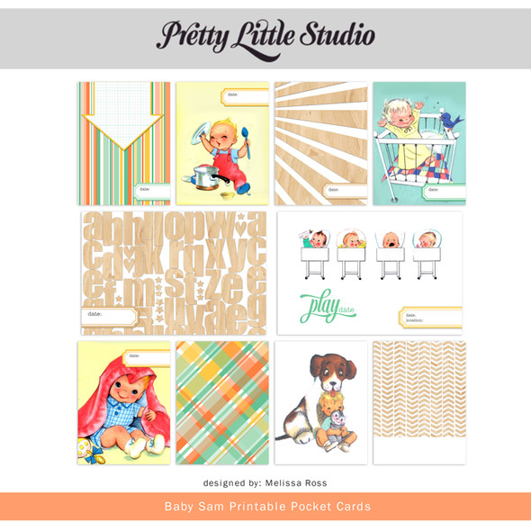 Printable | Baby Sam Cards