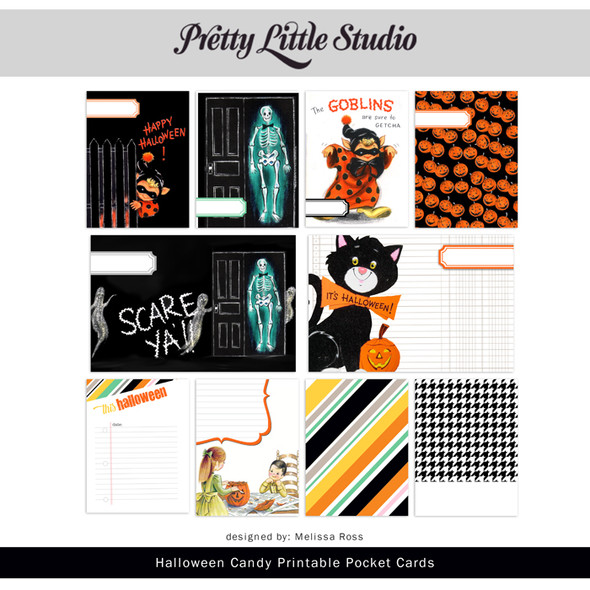 Printable | Halloween Candy Cards