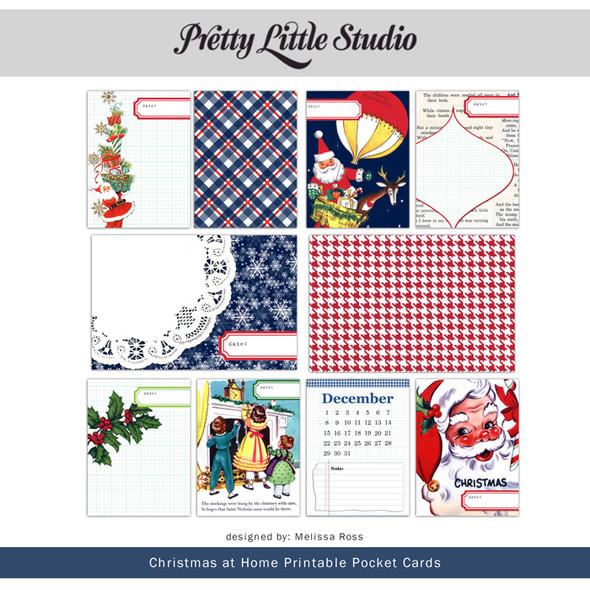 Printable | Christmas at Home Cards