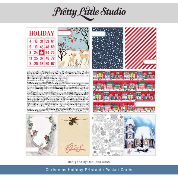 Printable | Christmas Holiday Cards