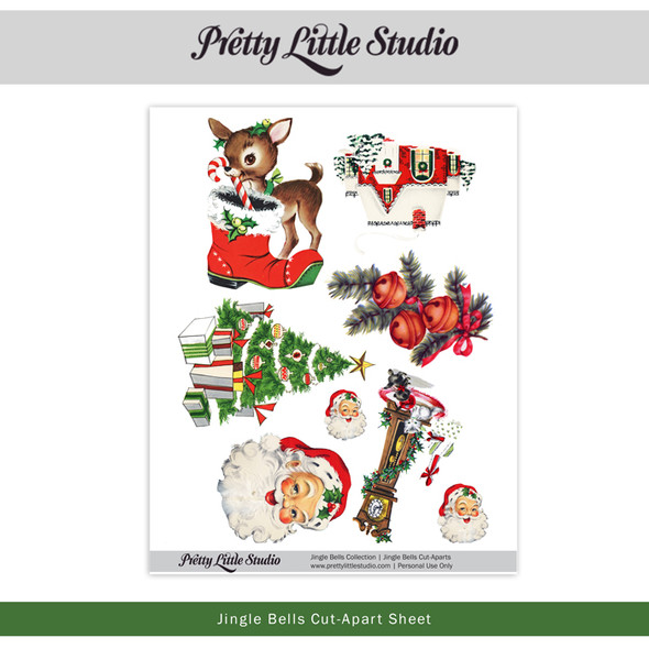 Printable | Jingle Bells Cut-Aparts