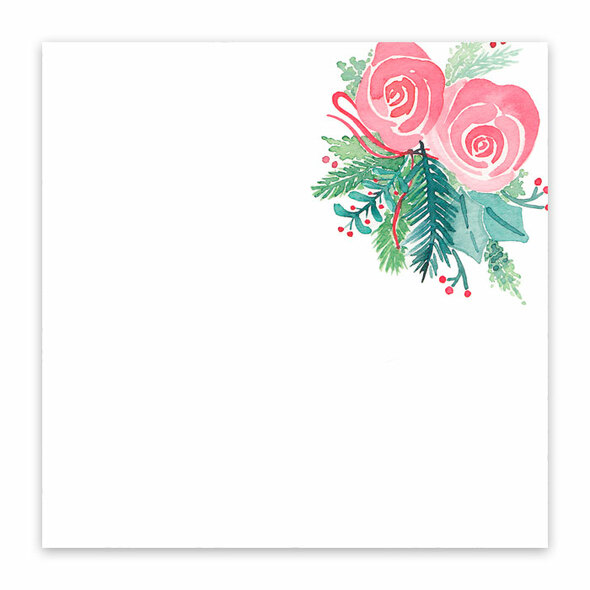 Paper | Mistletoe #2 | 12x12 (single-sided)