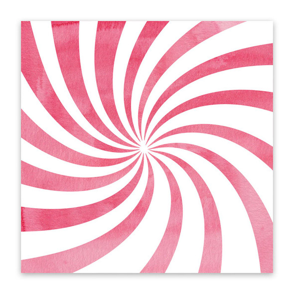 Paper | Peppermint Candy 12x12 (single-sided)