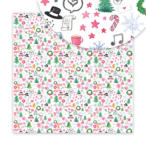Paper | Winter Medley 12x12 (single-sided)