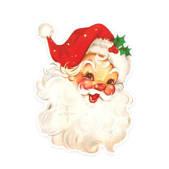 Vintage Die-Cut | Santa #23