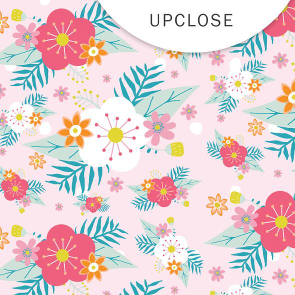 Paper | Sunhat - Pink | 8x8