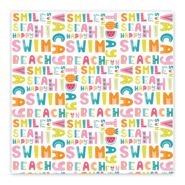 Paper | Vacay 12x12 (single-sided)