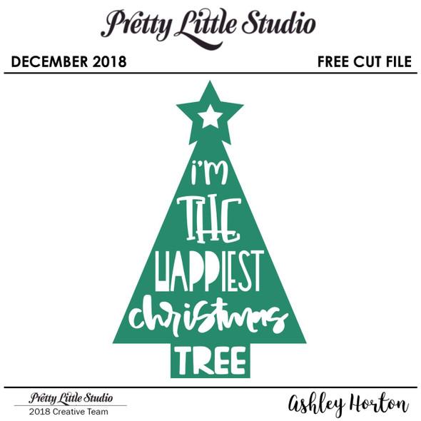 FREE Cut File | Christmas Tree