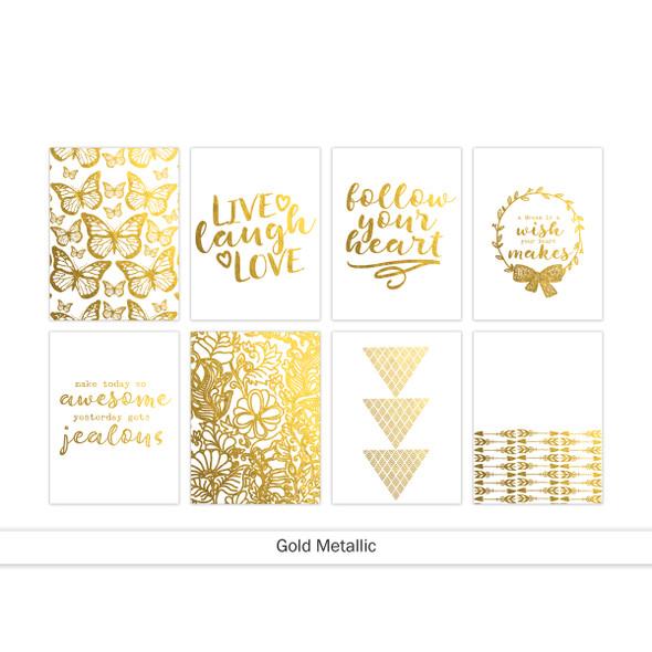 Journaling | Follow Your Heart | Gold