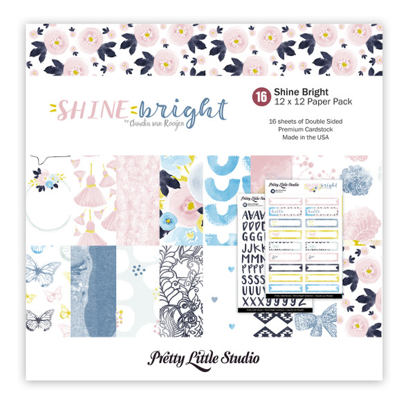 Paper Pack | Shine Bright 12x12 (double-sided)