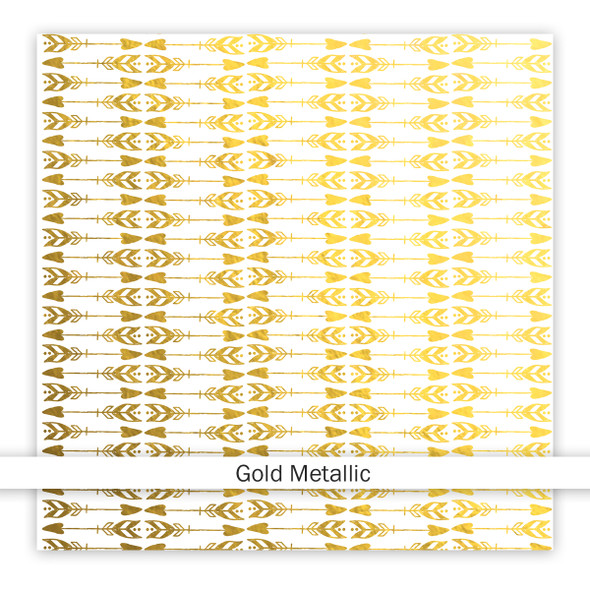 Metallic Vellum | Define You 8x8 | Gold