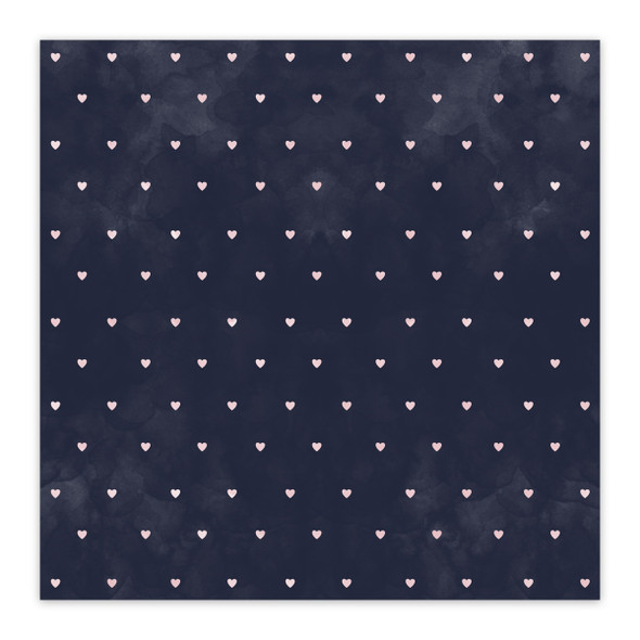 Vellum | Be Loved - Navy 8x8