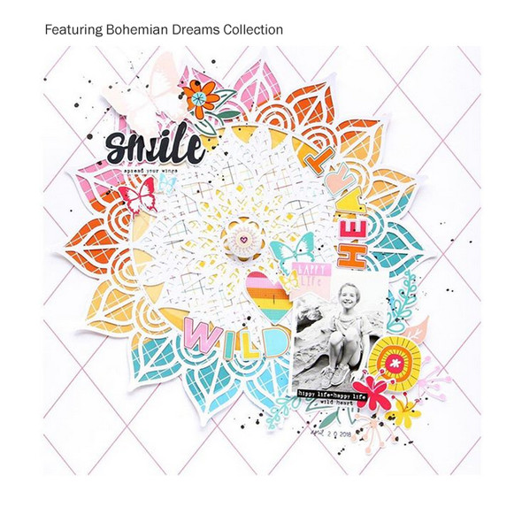 FREE Cut File | Bohemian Dreams