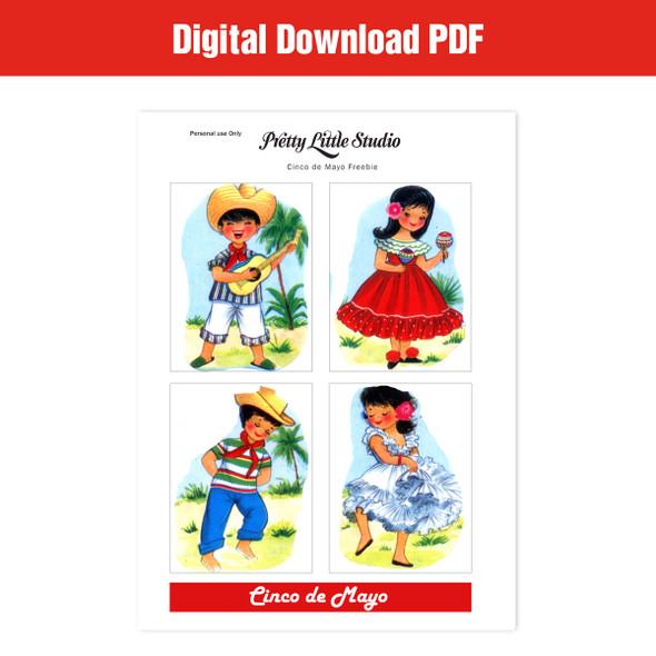 Freebie | Cinco de Mayo Cut-Apart Download