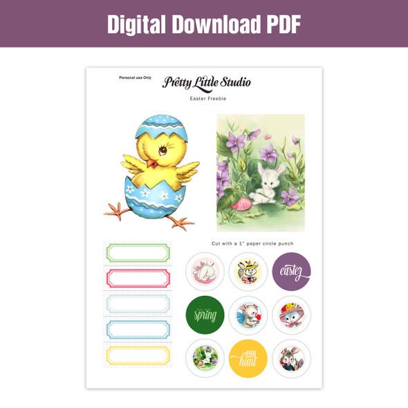 Freebie | Easter Cut-Apart Download