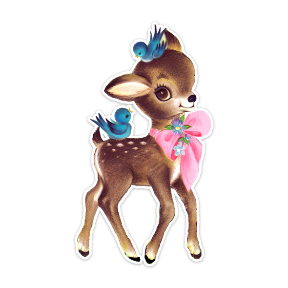 Vintage Die-Cut | Bella Deer | 6""