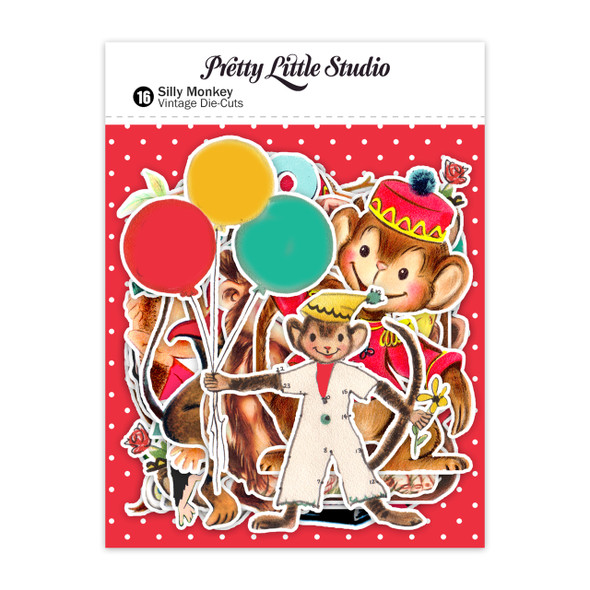 Die-Cuts | Silly Monkey (pack)