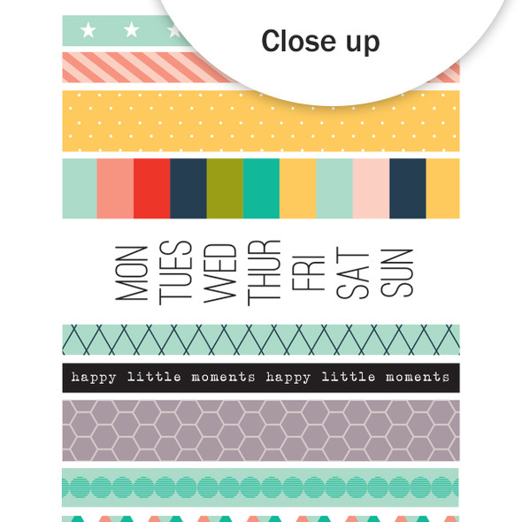 Stickers | Everyday Washi Vellum