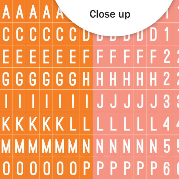 Stickers | Mini ABC | Orange Sherbet