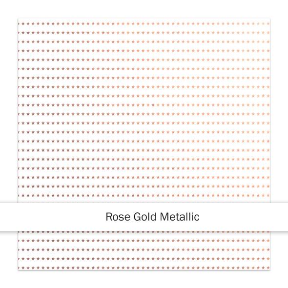 Metallic Paper | Stargazer 8x8 | Rose Gold