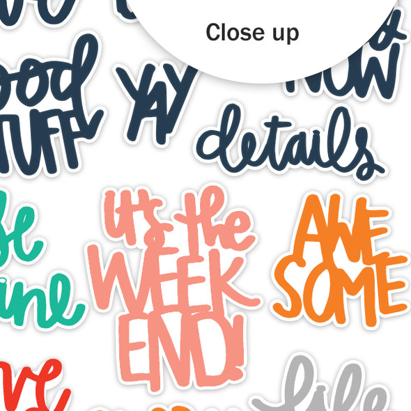 Die-Cuts | Seen & Noted | Color