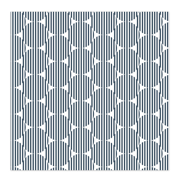 Paper | Rosie 12x12 | Navy (single-sided)