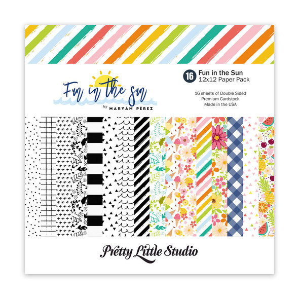 Paper Pack | Fun in the Sun 12x12 (double-sided)