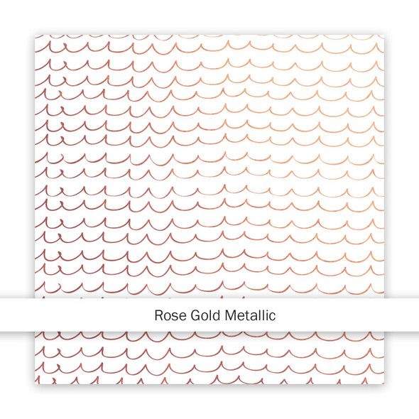 Metallic Paper | As Free as the Ocean | Rose Gold