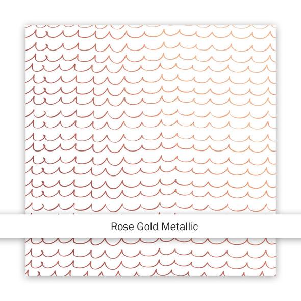 Metallic Paper | As Free as the Ocean | Rose Gold