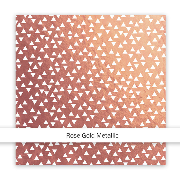 Metallic Paper | Hey, Girl! | Rose Gold