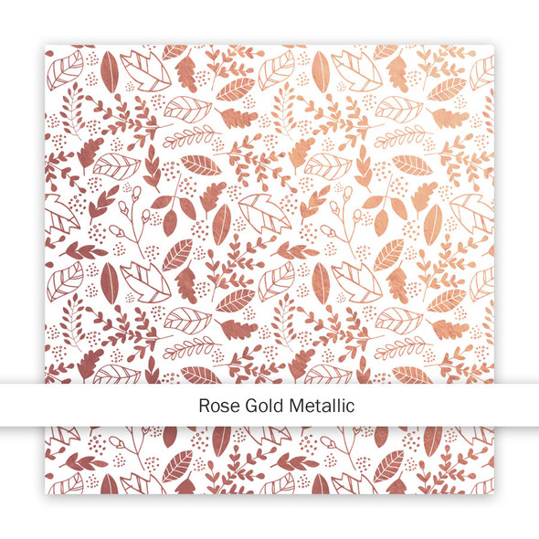Metallic Paper | Let's Get Lost | Rose Gold