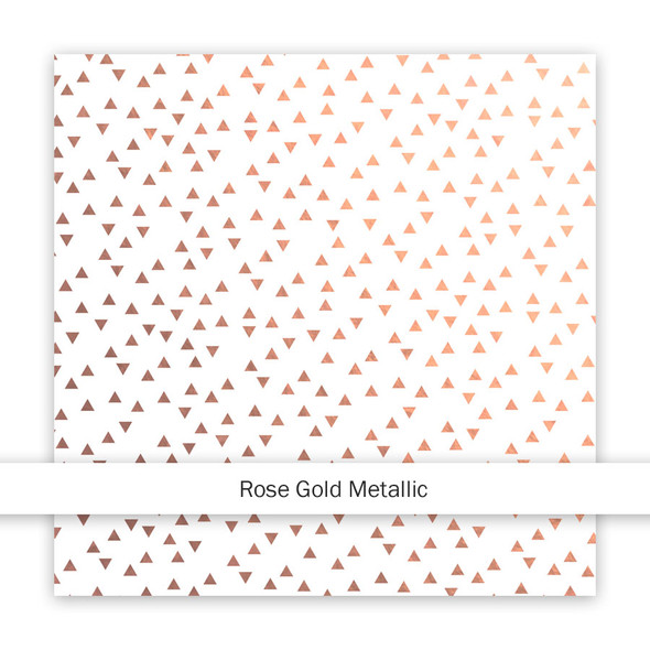 Metallic Clear | Hey, Girl! | Rose Gold