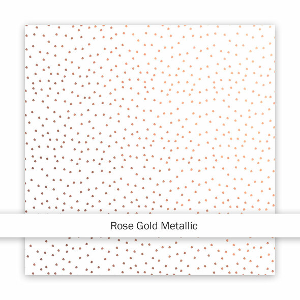 Metallic Clear | Sand | Rose Gold