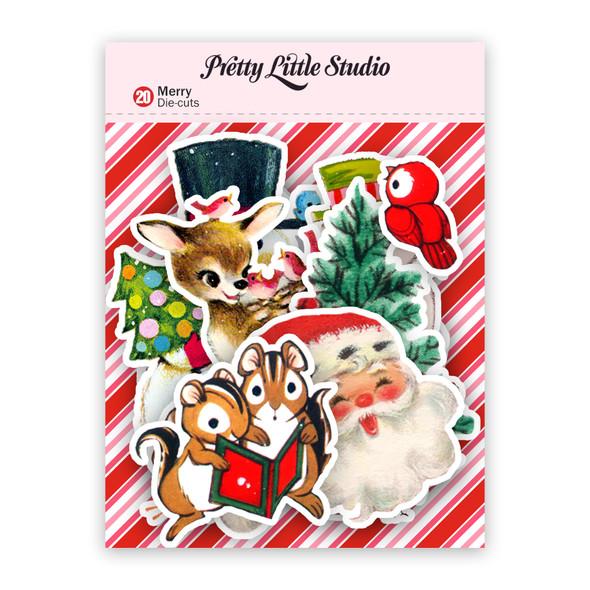 Die-Cuts   Merry (pack)