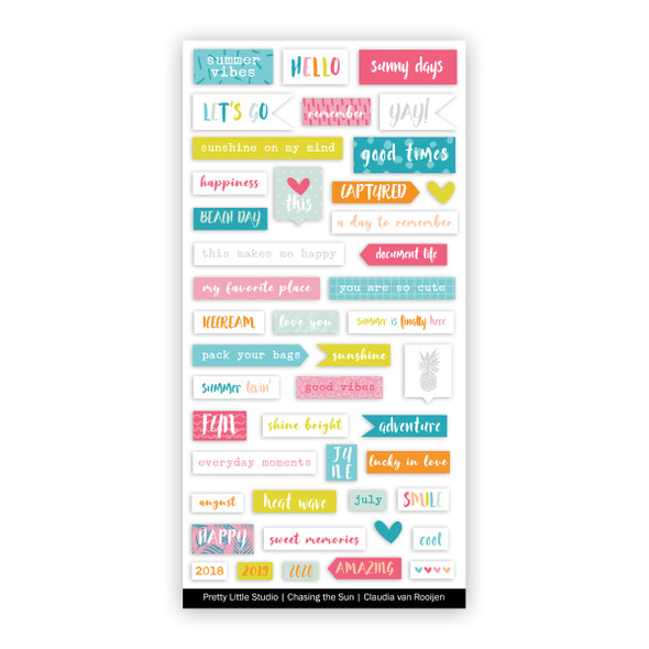 Stickers | Summer Vibe Word