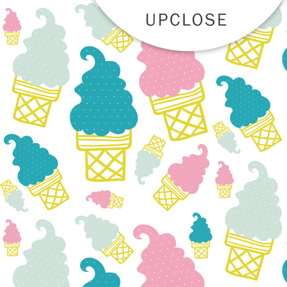 Paper | Ice Cream 12x12 (single-sided)