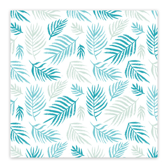 Clear | Beach Palm 8x8