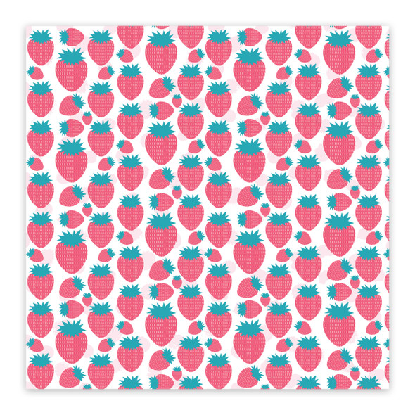 Clear | Pick Strawberries 8x8